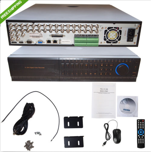 CH Channel Full D1 Network DVR Recorder H 264 HDMI 16CH Video Audio _ eBay
