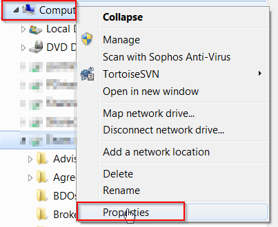 Windows 7 networking basics – How to map a drive between two