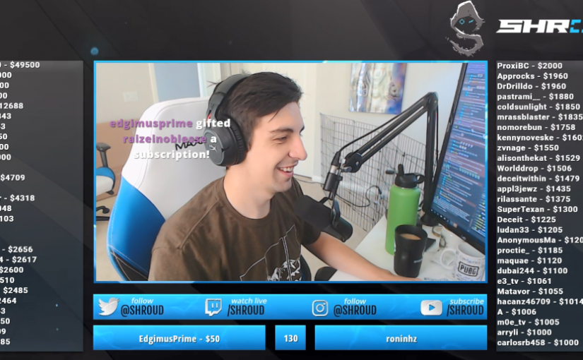 Shroud Twitch Stream Recap for Monday 8/13/18 – World of Warcraft