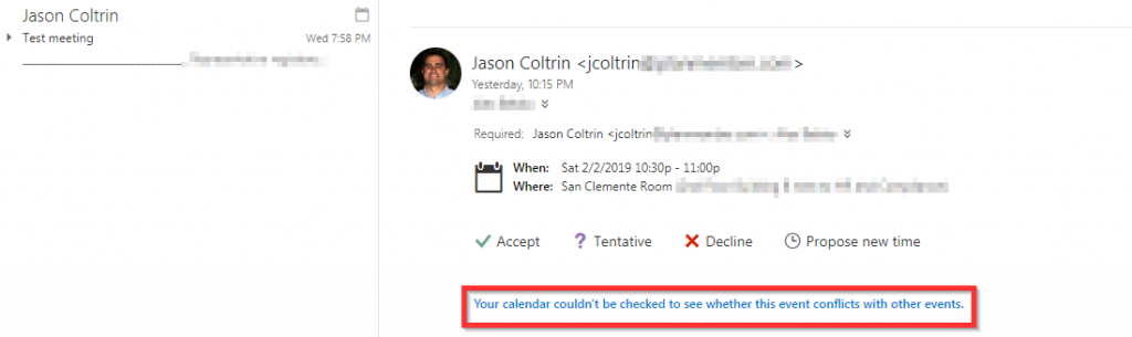 Solved – Office 365 Room Calendar Not Auto Processing or Accepting