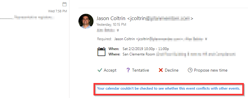 Solved – Office 365 Room Calendar Not Auto Processing or