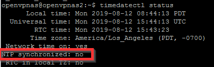 How to Set Clock Time and Date on Ubuntu Server when NTP Synchronized is set to No